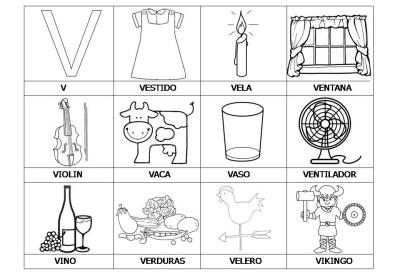 El abecedario de los objetos listo para imprimir (25)