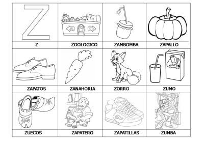 El abecedario de los objetos listo para imprimir (29)