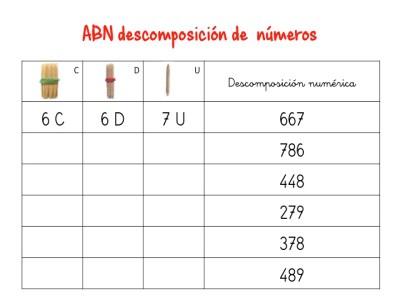 ABN descomposición de numeros hasta centenas5