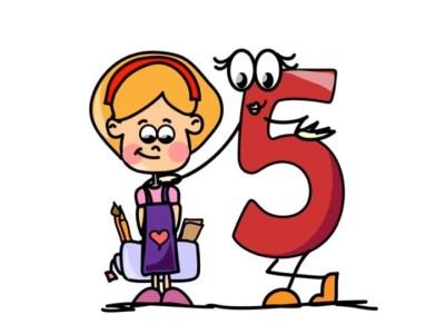 Aprendemos los números del 1 al 10 en español de forma divertida Video, láminas, Bits15