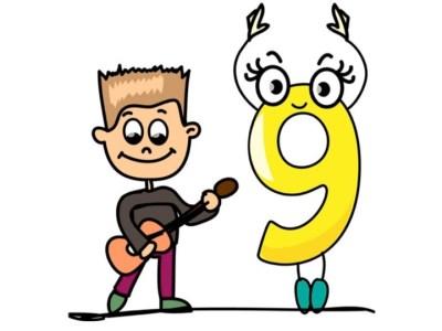 Aprendemos los números del 1 al 10 en español de forma divertida Video, láminas, Bits27