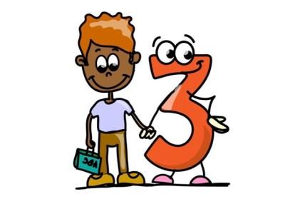 Aprendemos los números del 1 al 10 en español de forma divertida Video, láminas, Bits9