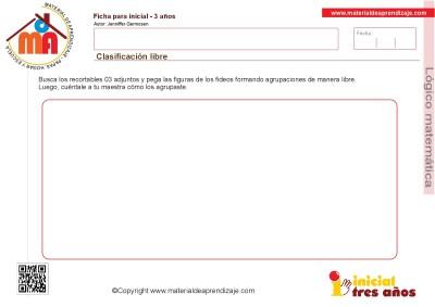 Colección de ficha para trabajar razonamiento Lógico matemático educación Infantil22