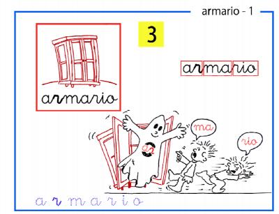 3.- sílabas inversas ar-armario ar-er-ir-or-ur