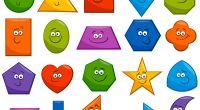 Formas GEOMÉTRICAS DIVERTIDAS ideales para tus fichas y trabajos en infantil y primaria  Trabajamos las figuras geométricas sencillas como el cuadrado, círculo o triángulo, pero además podemos enseñar otras […]