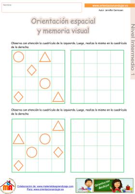02 Intermedio 1 orientaci¢n espacial y memoria visual