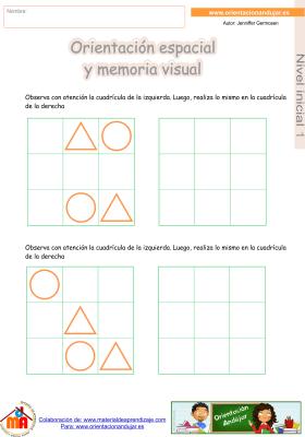 03 inicial 1 orientaci¢n espacial y memoria visual