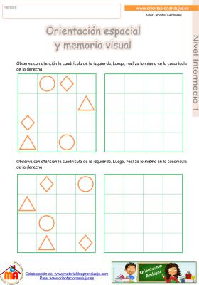 13 Intermedio 1 orientaci¢n espacial y memoria visual