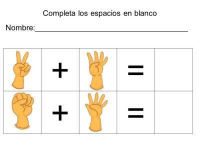 vamos a sumar con los dedos (16)