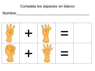 vamos a sumar con los dedos (19)