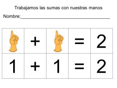vamos a sumar con los dedos (4)