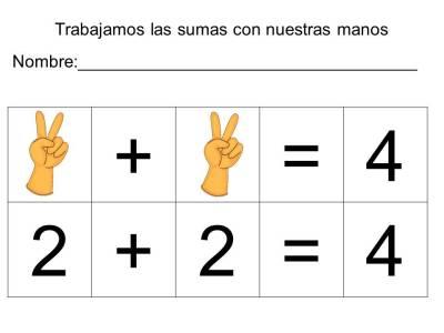 vamos a sumar con los dedos (5)