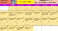 Nuevo calendario para trabajar en el mes de Marzo las inteligencias múltiples en este caso vamos a trabajar la Inteligencia lingüistica mediente unas divertidas actividades que os proponemos para cada […]
