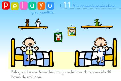 láminas para trabajar las rutinas con niños y niños que las necesitan10