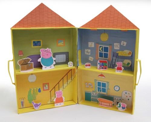 Modelo Casa Peppa Pig