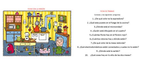 actividades para trabajar la atención y la percepción en la cocina destacada