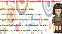 """""""El niño, con su enorme potencial físico e intelectual, es un milagro frente a nosotros"""", conceptualiza la célebre pedagoga italiana María Montessori, quien renovó los métodos pedagógicos de principios del […]"""