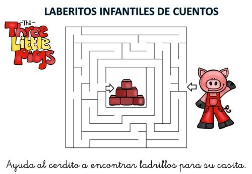 laberinto de cuentos infantiles los tres cerditos (7)