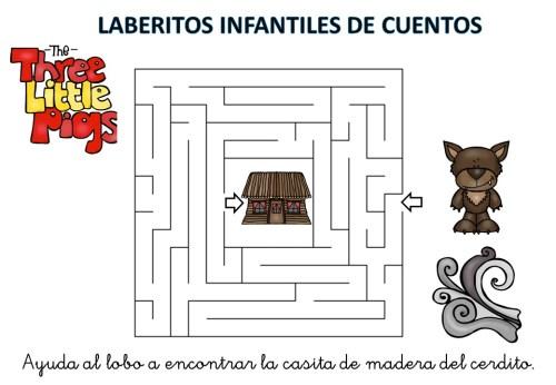 laberinto de cuentos infantiles los tres cerditos (9)