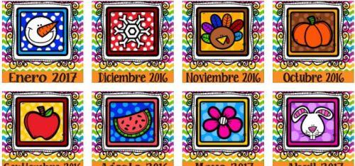 portadas calendarios y agendas