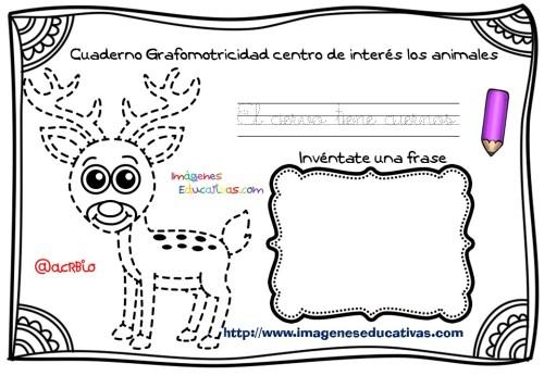 Cuaderno Grafomotricidad centro de interés los animales  (2)