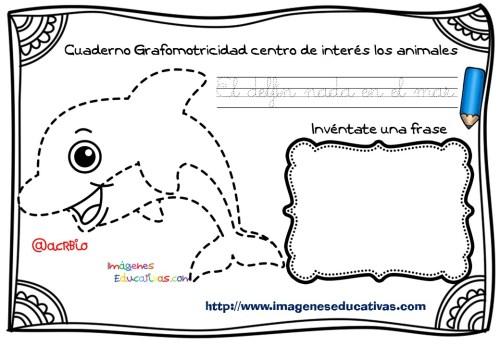 Cuaderno Grafomotricidad centro de interés los animales  (4)