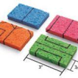 Manualidades-para-hacer-con-niños-Casa-con-esponjas-y-helechos-1