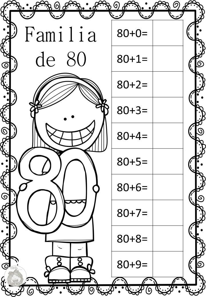 ABN Trabajamos las familias de números del 1 al 100 -Orientacion Andujar