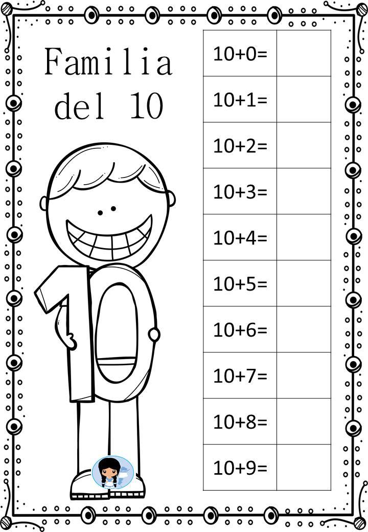 Abn Trabajamos Las Familias De Números Del 1 Al 100 Orientacion Andujar