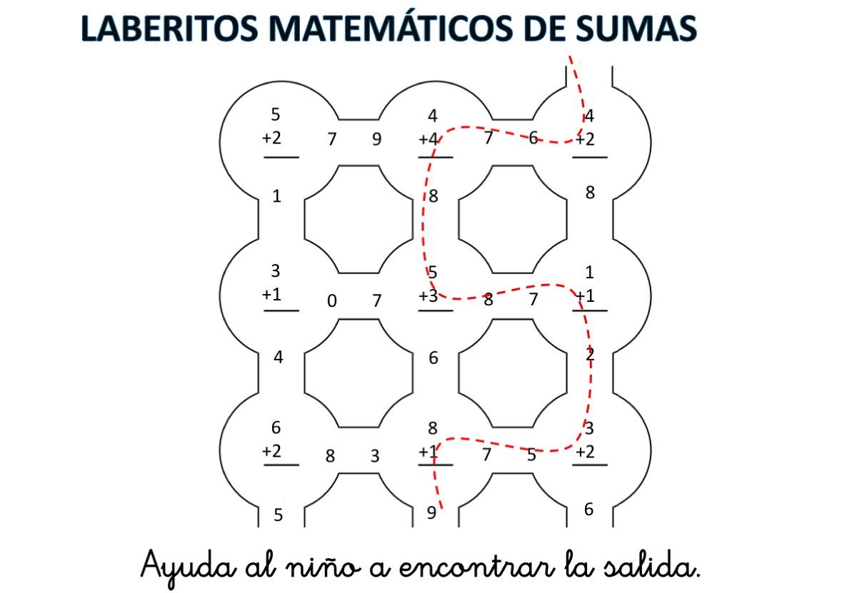 laberintos-de-sumas-nivel-inicial-hasta-el-10-con-soluciones10