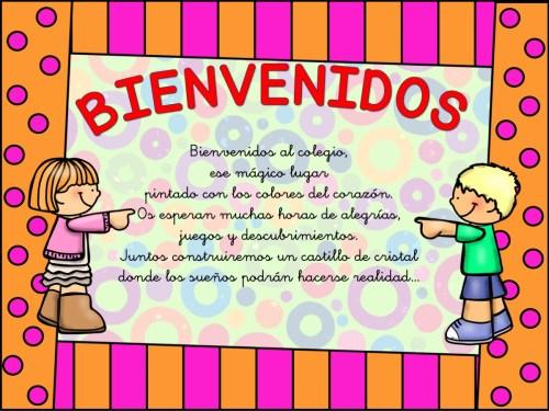 cartel de bienvenida 7