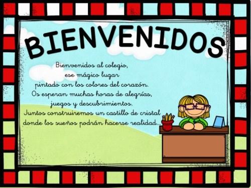 carteles de bienvenida infantil y primaria2