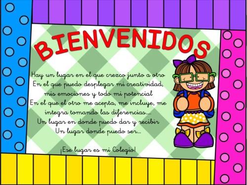 carteles de bienvenida infantil y primaria5
