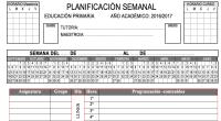 Os hemos preparado este planificador semanal totalmente original para programar semanalmente vuestros contenidos curriculares. DESCARGA EL PLANIFICADOR EN PDF Y EDITABLE  PLANIFICADOR SEMANAL PRIMARIA PROGRAMACIONES 5 HORASWORD PLANIFICADOR SEMANAL […]