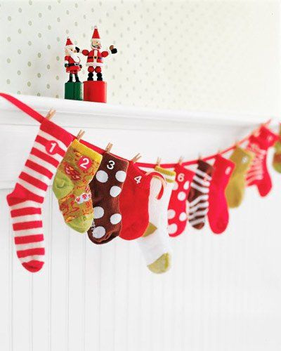 manualidad-calendario-adviento-calcetines