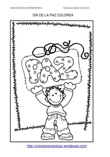 Día De La Paz Galería De Dibujos Y Carteles Niños Del Mundo Para