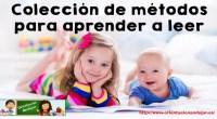 Colección de métodos para aprender a leer Son varios los métodos para que los niños aprendan a leer en un idioma. Estos métodos también se pueden usar para enseñar un […]