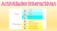 Hoy os dejamos un fantástico enlace a una serie de actividades interactivas de lengua y matemáticas para toda la primaria.