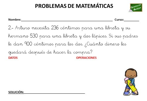 Best Problemas De Cuarto De Primaria Matematicas Pictures - Casas ...