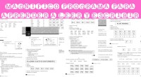 """Magnifico programa para aprender a leer y escribir El presente libro es una adecuación del """"Libro Simple para el Alfabetizador voluntario"""" publicado por el Gobierno del Chaco en 1998 para […]"""