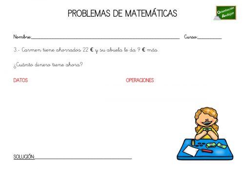 Repasa en verano COLECCION DE PROBLEMAS DE MATEMATICAS 1º PRIMARIA ...
