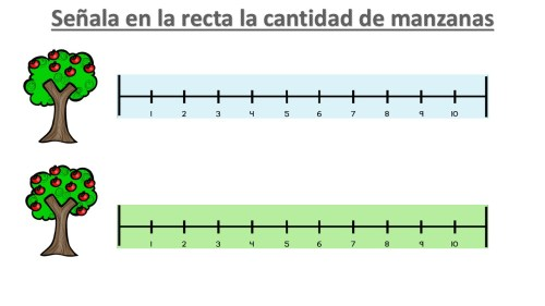 Actividades para trabajar el conteo en la recta numérica ...