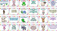 Lasadivinanzas infantilesson juegos de ingenio sencillos dirigidos al público infantil que tiene como objetivo entretener y divertir a los niños, preguntando o describiendo algo para que sea adivinado.  Las […]