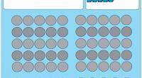 Os dejamos estas sencillas láminas para trabajar en clase la numeración, más concretamente las decenas.