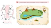En esta ficha los estudiantes necesitan comprender instrucciones orales para buscar un tesoro en un dibujo de un mapa. Para ello, además deberán identifican el propósito de los textos instructivos […]