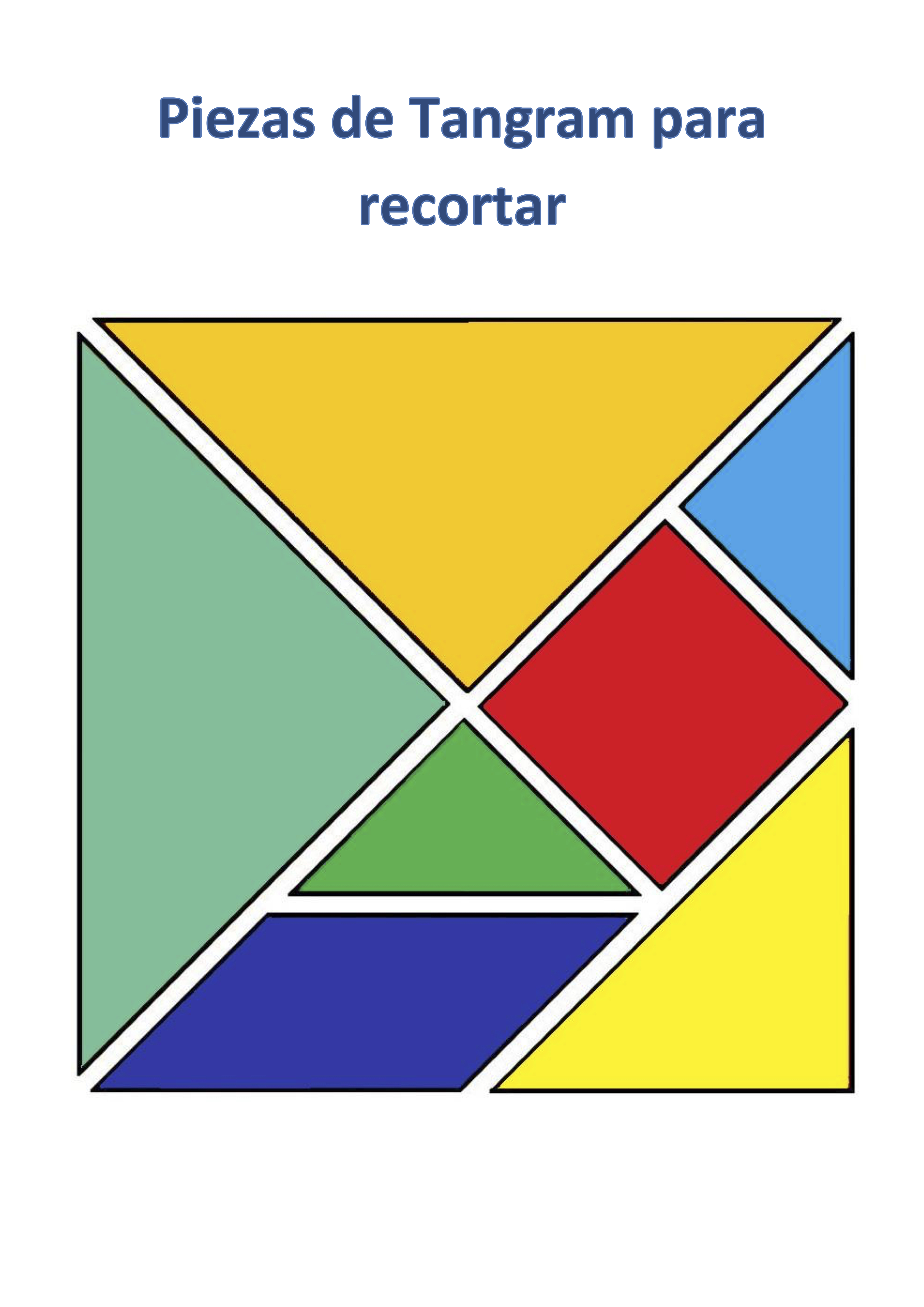 Tangram Grande Color 1