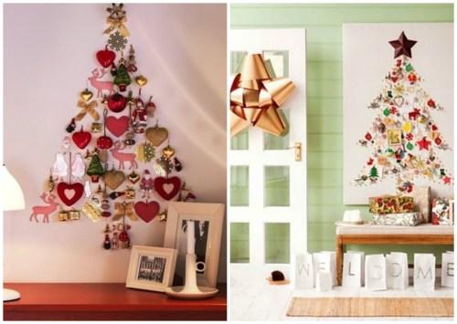 Ideas para hacer árboles de Navidad con sencillos materiales ...