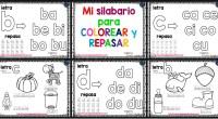 Os dejamos este genial silabario con el que trabajar el trazo y la motricidad ademas de la creatividad cuando coloreamos.