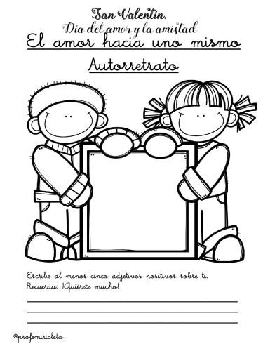 Tarjetas Para Trabajar El Dia Del Amor Y La Amistad Orientacion Andujar