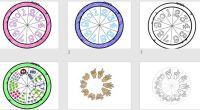Os dejamos estas divertidas ruletas matemáticas para trabajar con un juego los números del 1 al 10.